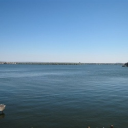 Lake LBJ open water view